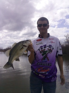 Bass caught by Dillon Eakin