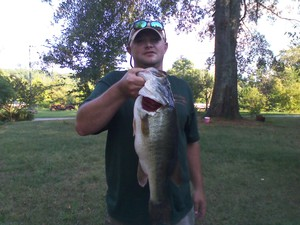 bass  caught by lamar  jarrard