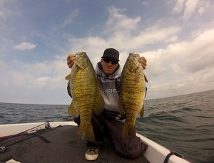 Smallmouth caught by Tim Hine