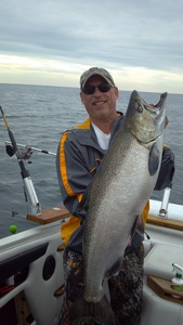 King salmon caught by Roger Jurewicz