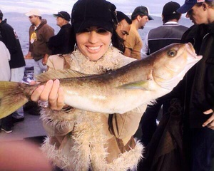 Whitefish caught by Josi Phillips