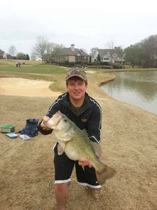 Largemouth Bass caught by Justin Straughan