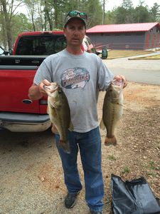 Largemouth Bass caught by Sam Batten