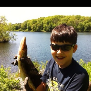 Pickerel caught by Alexander Tillman