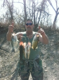 large mouth bass caught by Country boy redneck