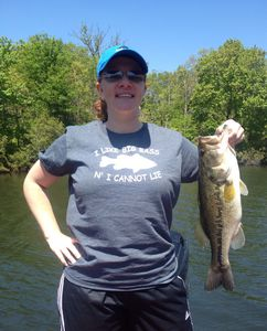 Bass caught by Brandie Knight