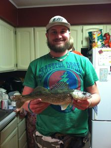 Walleye caught by Zach Neva