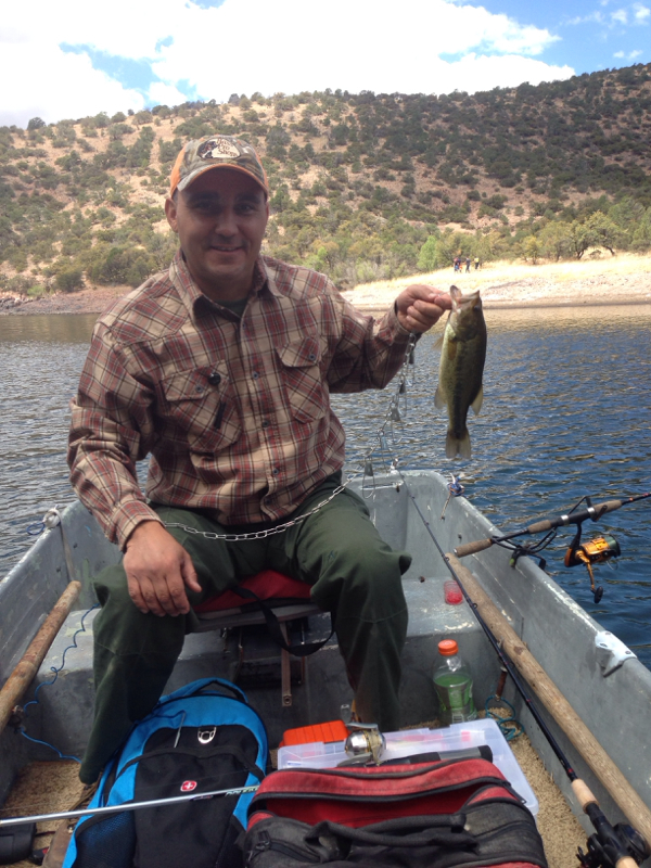 Parker canyon lake az fishing reports map hot spots for Canyon lake fishing spots