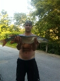 northern pike caught by Braden woods
