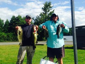 Largemouth Bass caught by Dale Wyman
