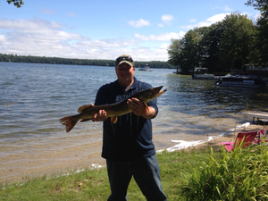 Northern Pike caught by Corey Ribbens