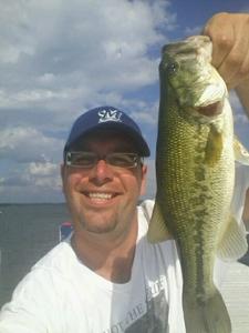 largemouth bass caught by Omar Garcia