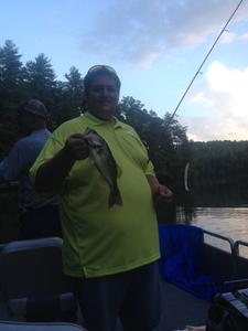 Large Mouth Bass caught by Jennifer Honeycutt