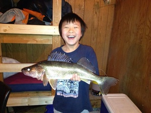 Walleye caught by Dennis Xiong