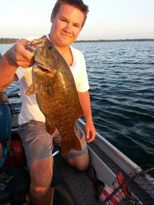 Smallmouth Bass caught by Konner Kearney
