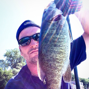 Smallmouth Bass caught by jay Russell
