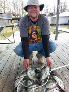 Crappie caught by Tobiah Johnson
