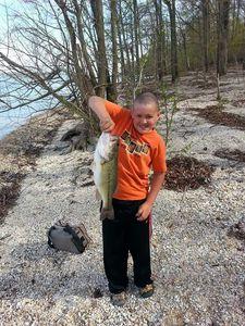 Largemouth Bass caught by Tobiah Johnson