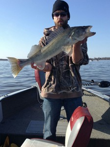 Walleye caught by Jeremy Thompson