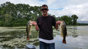 Largemouth Bass caught by Brady Rouch
