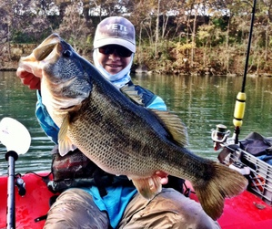 Largemouth bass caught by Richie Pusateri