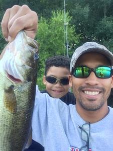 Large Mouth Bass caught by Abdel Ávila