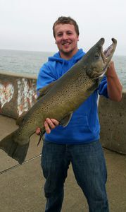 German Brown Trout caught by Noah Humfeld