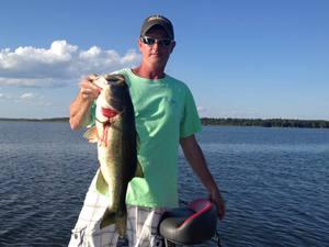 Largemouth Bass caught by Jonathan Green