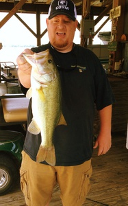 Largemouth Bass caught by Chad Wilkins