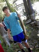 Gar Pike caught by Andrew Pillans