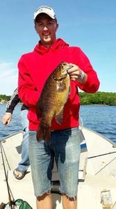 Smallmouth Bass caught by Ahren Baumann