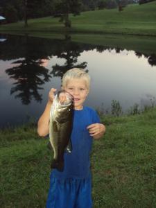 Bass caught by Jack Herron