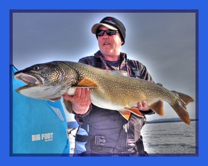 Lake Trout caught by Dennis Musgraves