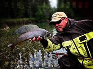 Arctic Grayling caught by Dennis Musgraves