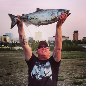 King Chinook Salmon caught by Dennis Musgraves