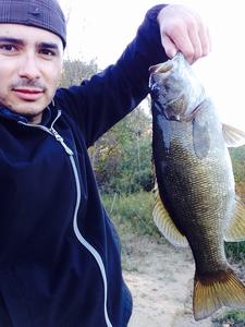 Large Mouth Bass caught by Aldo Gonzalez