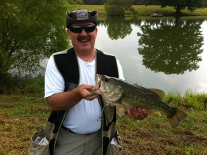 Largemouth caught by Jeff McKinney