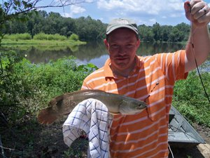 Bowfin caught by James Findley