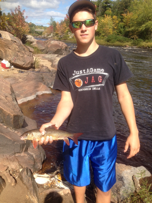 Black river wi fishing reports map hot spots for Wisconsin river fishing report