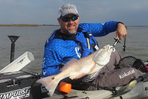 Redfish  caught by Bobby Clark