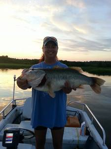Largemouth Bass caught by Leslie Sams