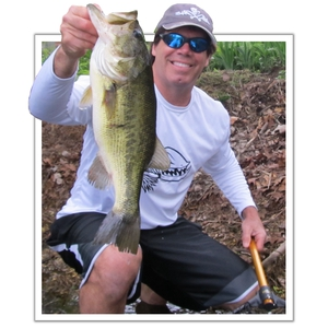 largemouth bass caught by Rich Pardy