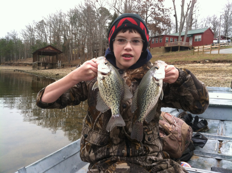 Chickamauga lake tn fishing reports map hot spots for Crappie fishing in tennessee