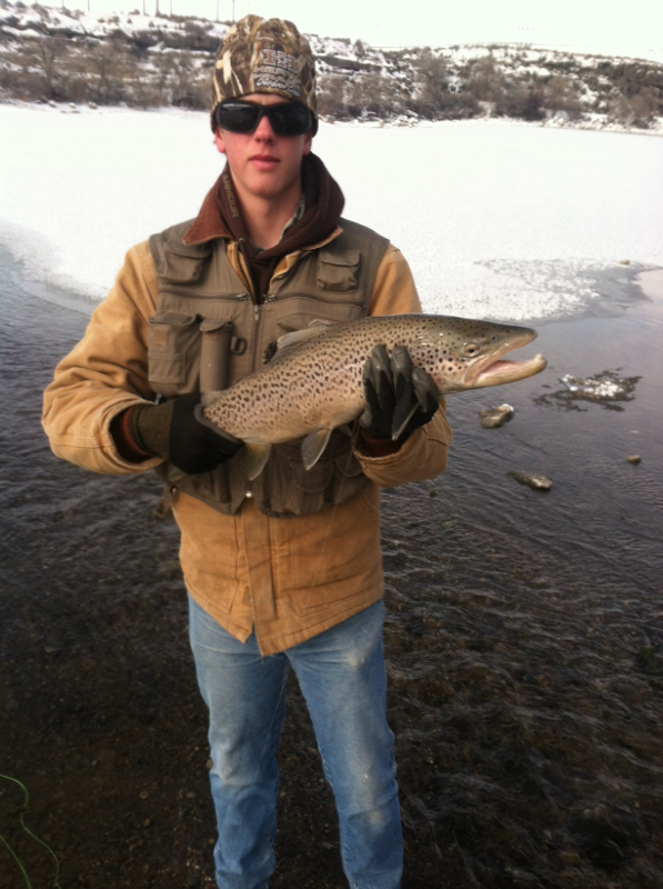 Snake river id fishing reports map hot spots for Snake river fishing report