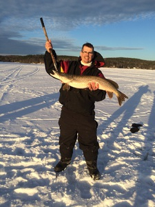 Northern pike caught by Jeff Prendergast