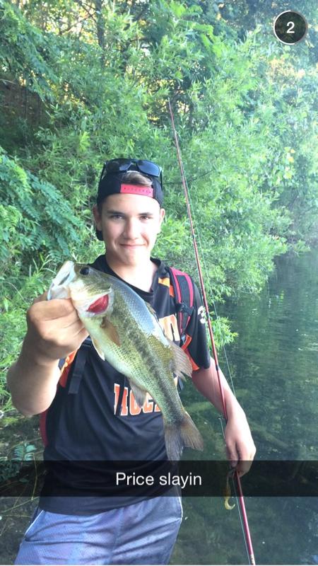 Bishop lake mi fishing reports map hot spots for Lake gregory fishing report
