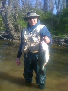 Bass caught by Randy Naugle