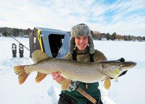 Northern Pike caught by Tim Steinmetz