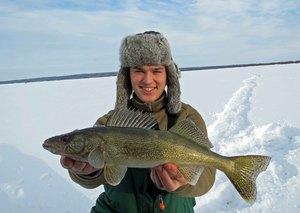 Walleye caught by Tim Steinmetz