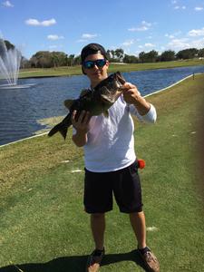 Bass caught by Tyler Martinez